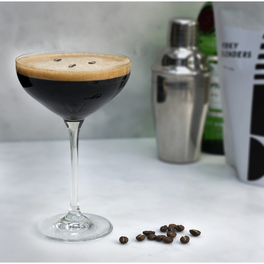 Espresso Martini Shoot for Perky Blenders Coffee